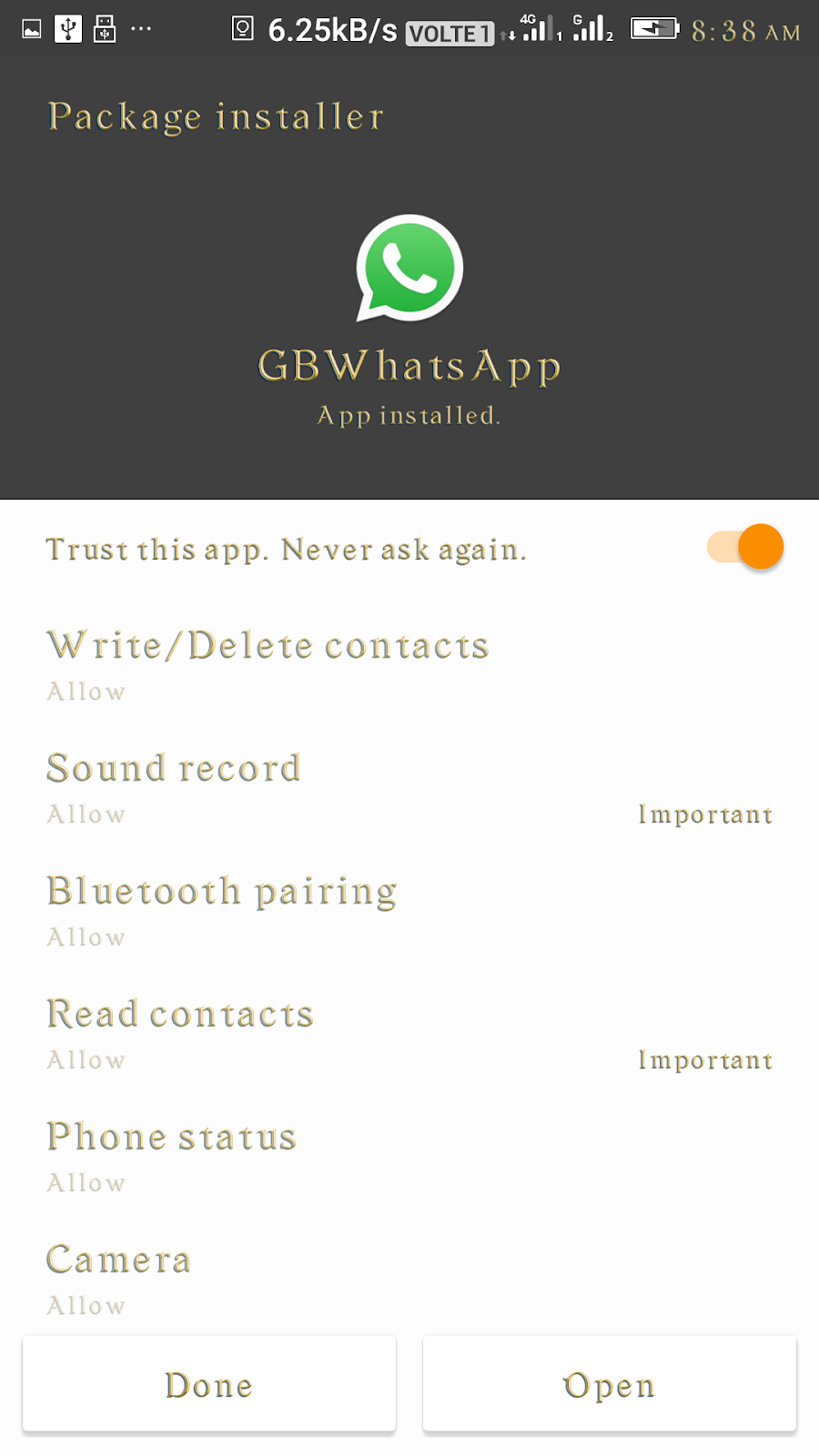 GBWhatsApp Plus Mod APK v7.36 Download CRACK - 02