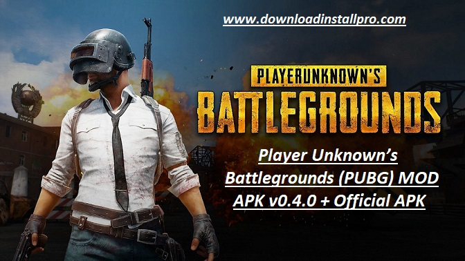 Player Unknown's Battlegrounds (PUBG) MOD APK v0.4.0 - 01