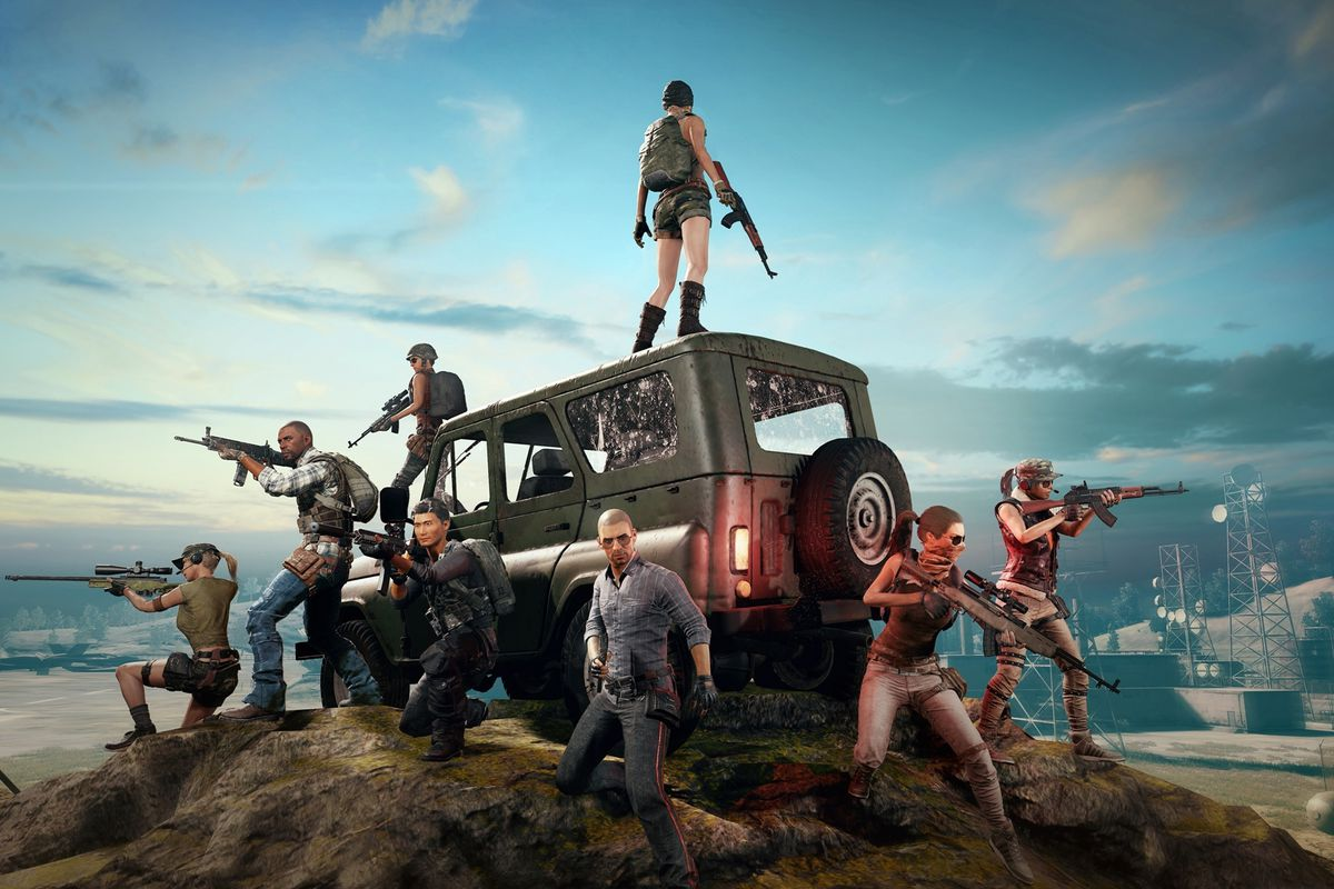 Player Unknown's Battlegrounds (PUBG) MOD APK v0.4.0 - 02