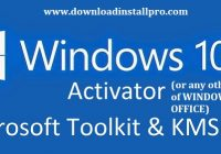 download kms activator for windows 10